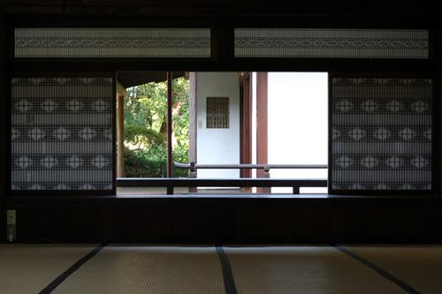 恵林寺の和室