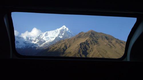 ペルー鉄道の車窓から