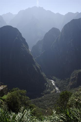 マチュピチュ周囲の山々