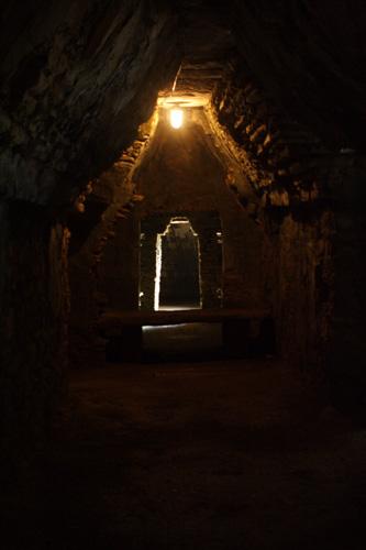 パレンケ:宮殿の通路