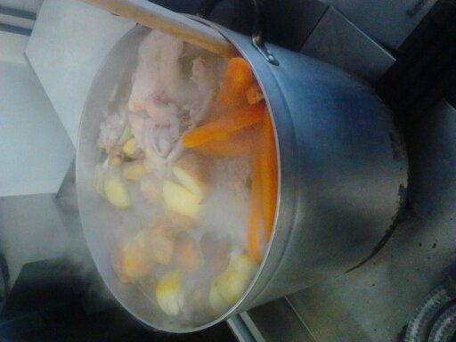スープ初日