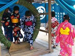 白鳥神社夏越祭