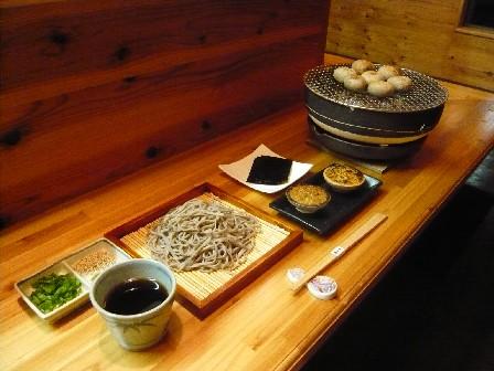 そば&焼味噌料理