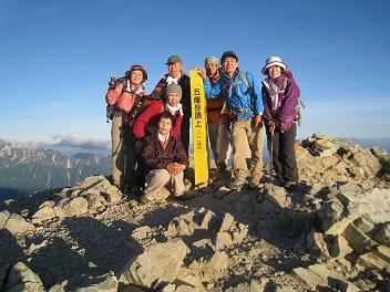 9 五竜山頂1