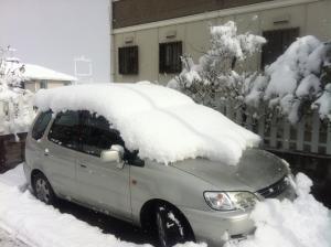 滋賀の雪②