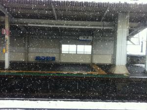 滋賀の雪①