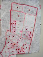 チラシ全戸配布協力分布地図