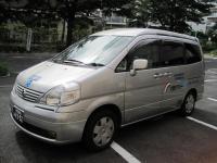 """介護タクシー""""虹""""横から"""