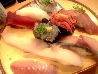 魚がし寿司(握り鮨)