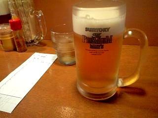 肉芝(生ビール)