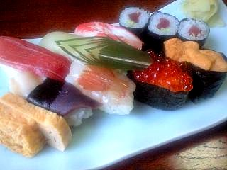 福島(ランチの寿司)