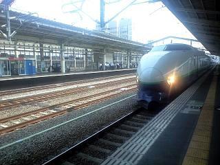長岡駅(新幹線ホーム)