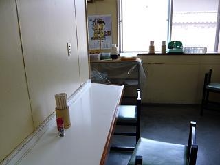 彦江製麺所(2年前の客席)