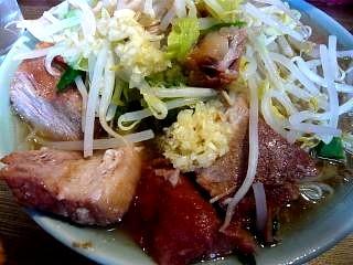 ラーメン髭(チャーシュー麺UP)