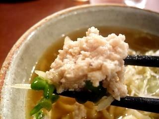 大喜(煮干し醤油つくね)
