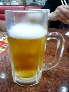 餃子の王将(生ビール)