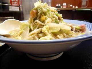 リンガーハット(野菜たっぷりちゃんぽんその2)