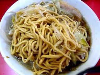 ラーメン二郎三田本店(小豚麺その2)