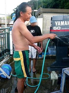 船掃除(マスターその1)
