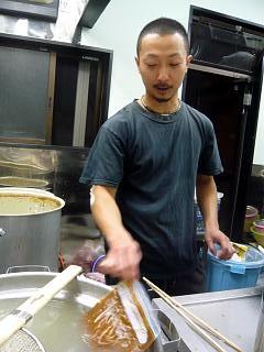 ラーメン二郎中山駅前店(カレー茹で)