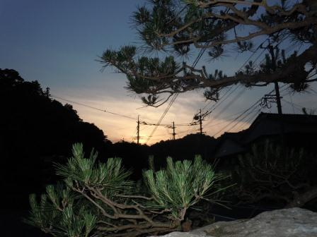 台風一過の夕方(2011-5-30)