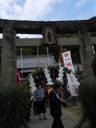 茅の輪くぐり(2011-06-01)