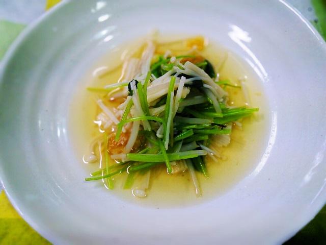 塩レモン三つ葉鍋