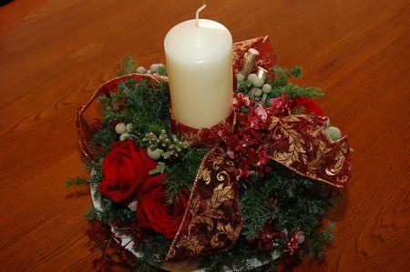 20111221クリスマスリース2