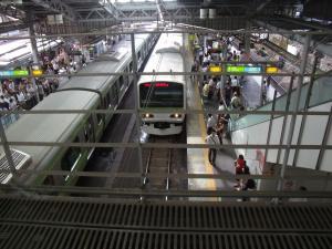JR山の手線 田端駅