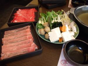 外食ランチ しゃぶしゃぶ&すきやき食べ放題