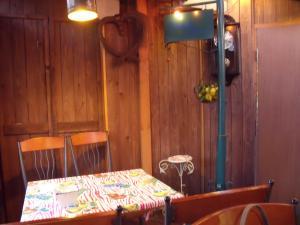お気に入りのカフェ テーブル席
