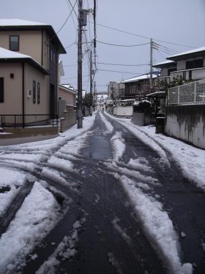 通勤の道①