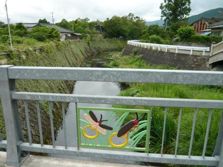 橋からの川の感じ