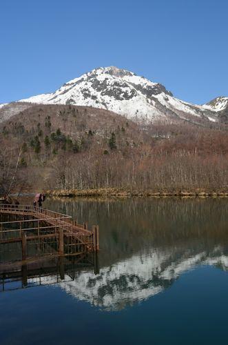 上高地焼岳20120428