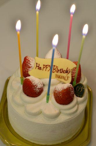 バースデーケーキ20120602