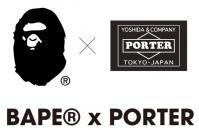 BAPE x PORTER