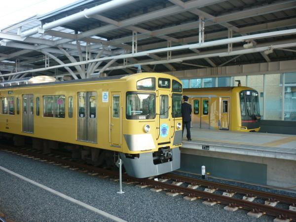 2014-01-18 西武9106F 東急4110F