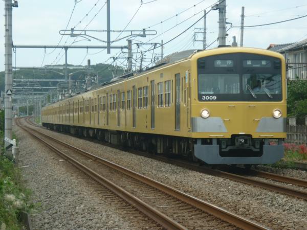 2014-09-27 西武3009F 各停飯能行き2
