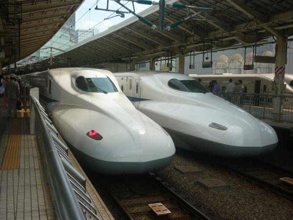 2014-08-13 東京駅 N700系
