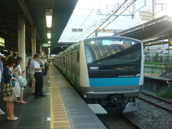 2014-10-03 京浜東北線E233系ウラ143編成 各駅停車大宮行き