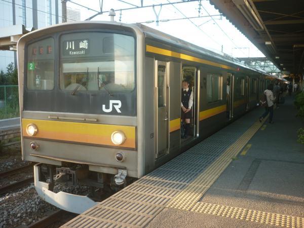 2014-10-03 南武線205系ナハ2編成 川崎行き