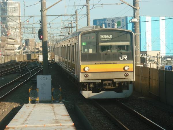 2014-10-03 南武線205系ナハ6編成 稲城長沼行き