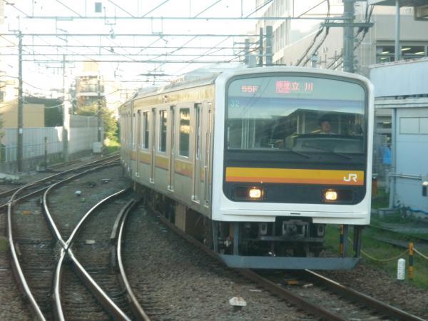 2014-10-03 南武線209系ナハ32編成 快速立川行き