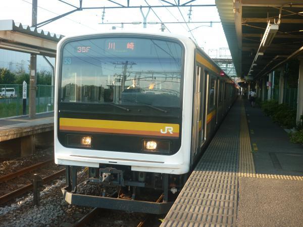 2014-10-03 南武線209系ナハ53編成 川崎行き3