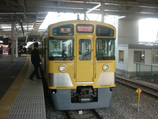 2014-02-01 西武2097F 各停西武球場前行き5