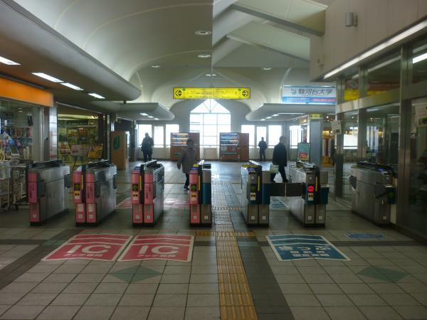 2014-02-01 飯能駅 自動改札機2