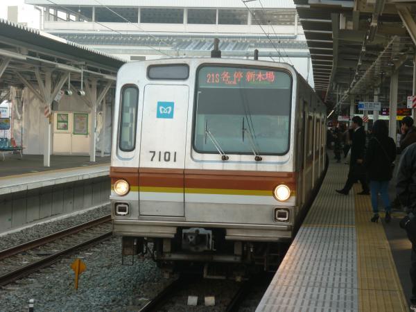 2014-02-01 メトロ7101F 各停新木場行き