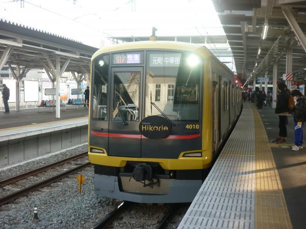 2014-02-01 東急4110F 快急元町・中華街行き