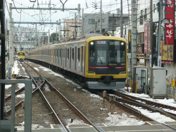 2014-02-11 東急4110F 快急元町・中華街行き