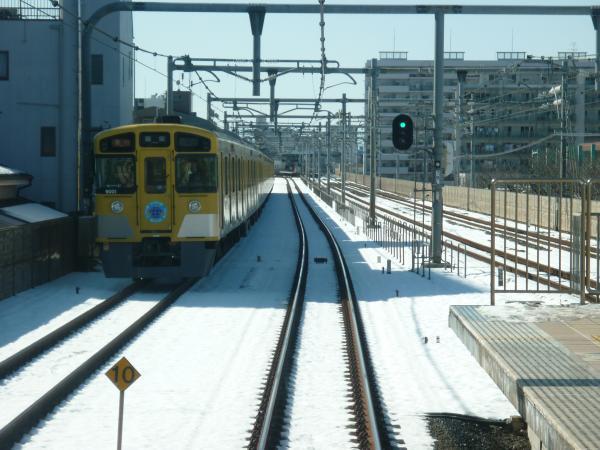 2014-02-16 西武9101F 急行飯能行き